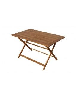 Mesa rectangular plegable...