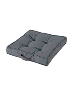 Cojin colchon 50x50x10cm gris