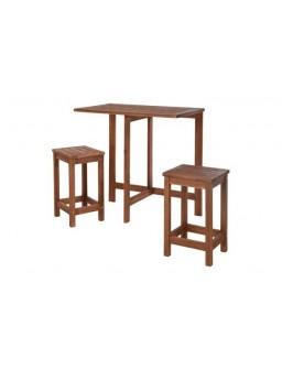 Conjunto madera plegable...