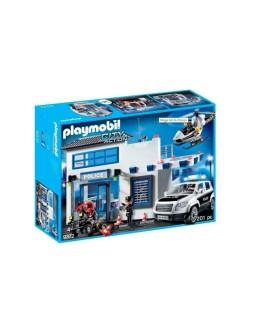 Playmobil mega set de policía