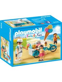 Playmobil carrito de helados