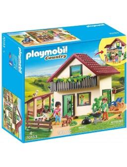 Playmobil casa de campo...