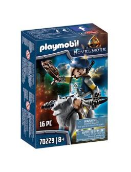 Playmobil ballestero con lobo