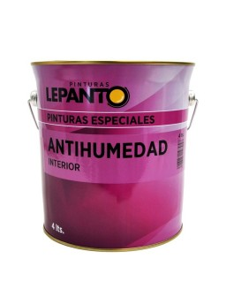 Pintura antihumedad 4L blanco