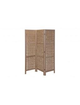 Biombo madera 3 paneles