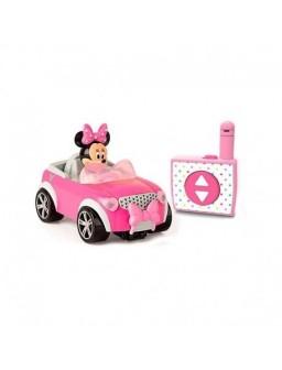 Minnie coche de carreras...