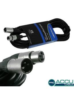 AC-PRO-XMXF/10 XLR m/f 10m