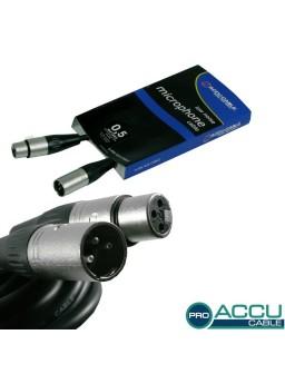 AC-PRO-XMXF/0,5 XLR m/f 0,5m