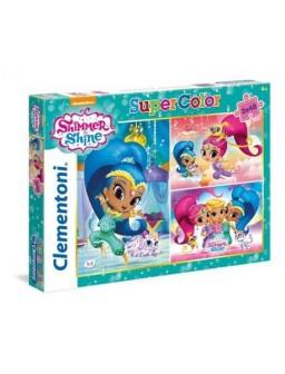 Clementoni puzzle 3x48pz...