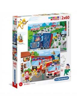 Clementoni puzzle 2x60pz...