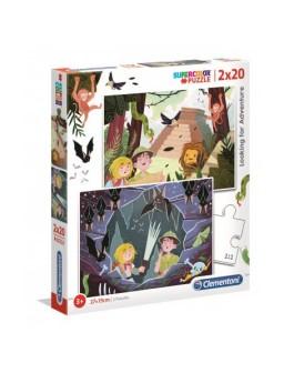 Clementoni puzzle 2x20pz...