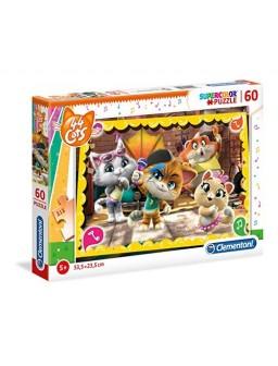Clementoni puzzle 60pz 44 cats