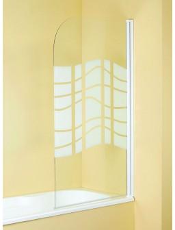 Biombo bañera Ondas 80x140cm