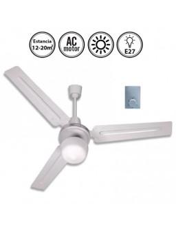 Ventilador Techo C/Luz 90Cm...