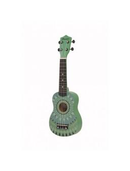 Ukelele Soprano Bamboo Jade...