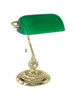 Lámpara de mesa BANKER - Verde