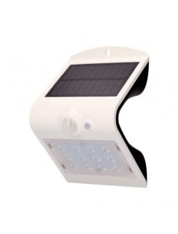 Aplique solar 220lm Blanco