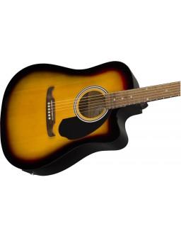 Fender FA-125CE Dread SB WN
