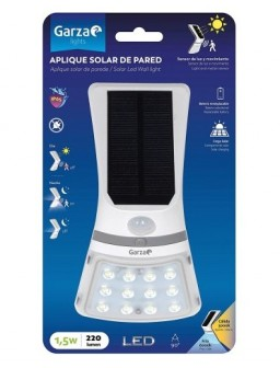 Aplique solar LED 1,5W...