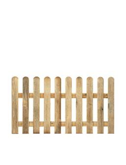 Valla clasica madera...