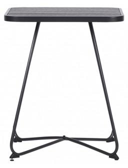 Mesa acero cuadrada 58x58cm...
