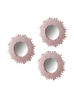 Espejo rosa polipropileno...