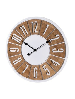 Reloj pared MDF 68 X 5 X 68 cm