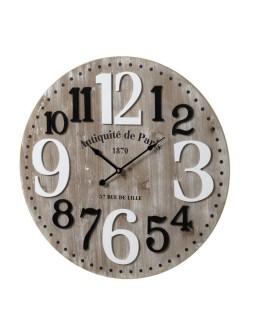 Reloj pared MDF 60 X 4,50 X...