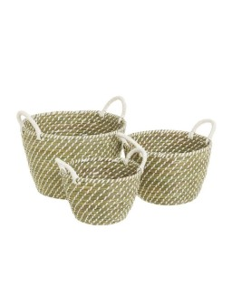 3 cestas natural life...